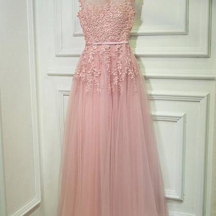 Gorgeous Pink Prom Dress, Prom Dres..